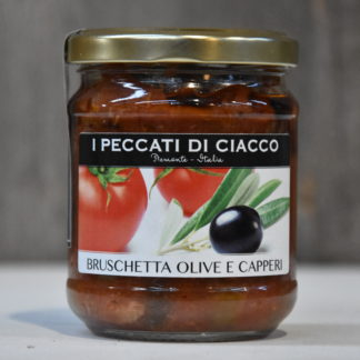 bruschetta olive e capperi langhe gourmet