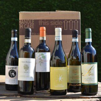 wijnpakket witte wijnen Piemonte