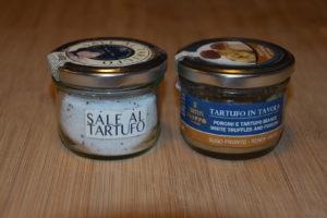 truffelzout en saus met truffel en funghi porcini
