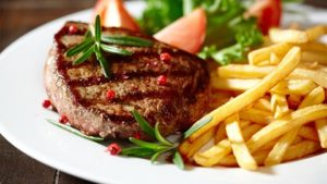 week van de steak friet