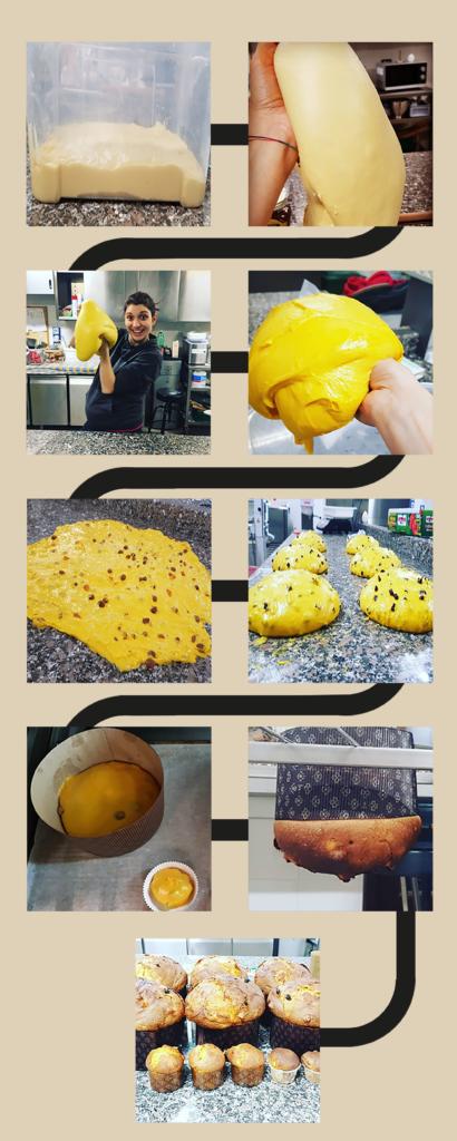 Hoe wordt panettone gemaakt?
